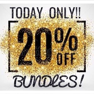 Other - ✨✨-20% off Bundles!!! TODAY ONLY!!✨✨